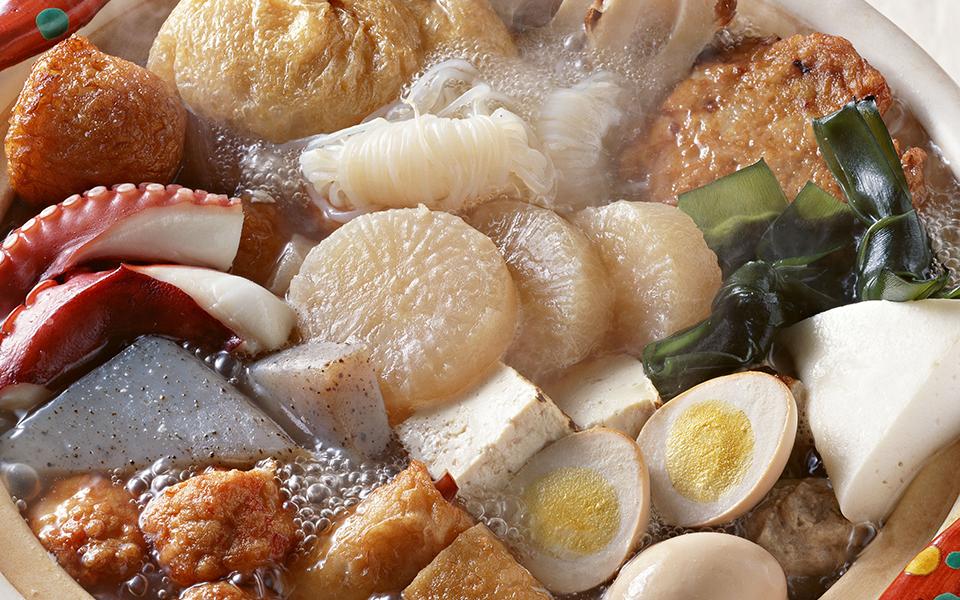 新年会は、京風おでん鍋コースがおすすめ!